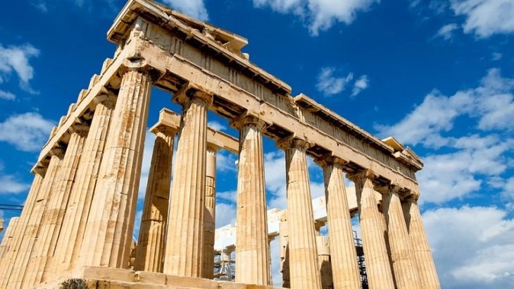 Akropolis in Athen