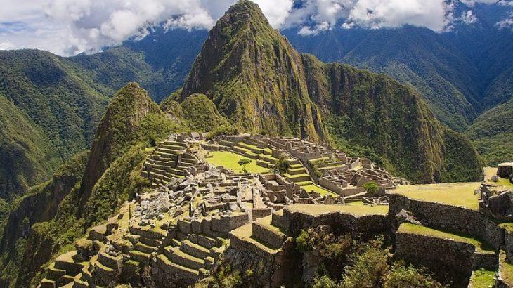 Machu Picchu Berglandschaft